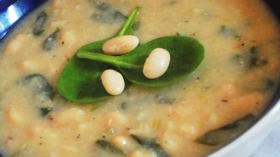 White bean soup for winter!